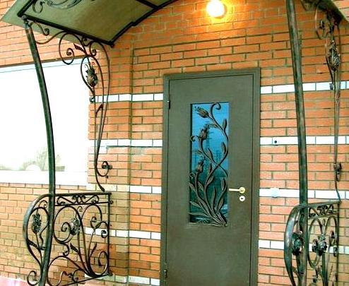 уличные металлические двери в ступино