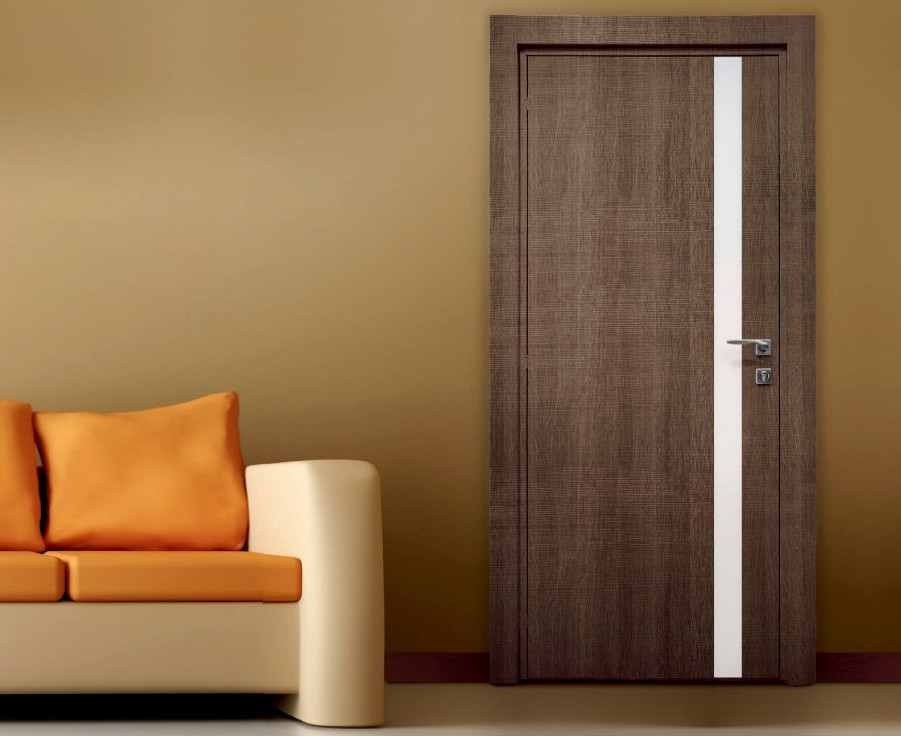 Кашированная дверь