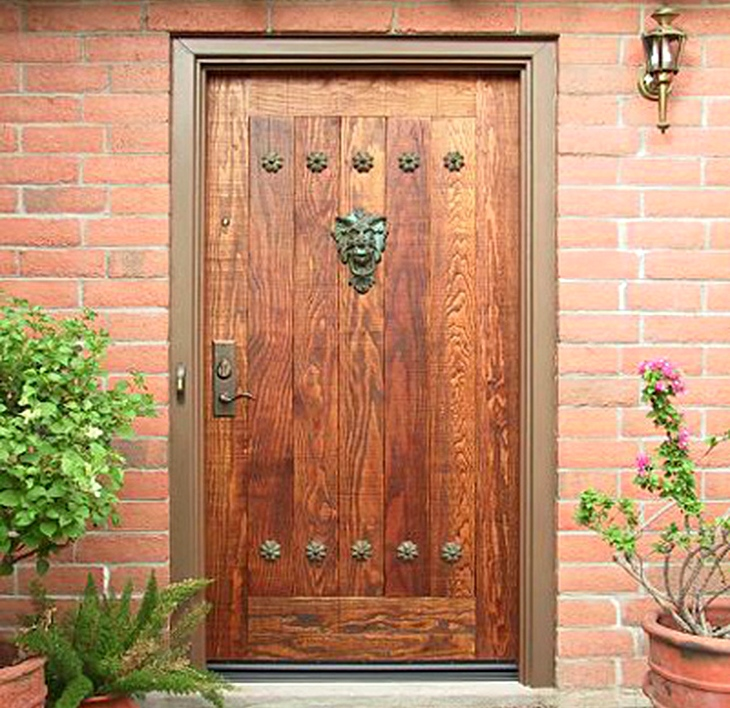 Входная дверь для дома своими руками