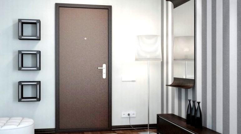 Двери металлические входные 2
