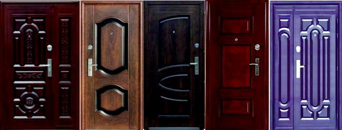 Китайская дверь металлическая входная3