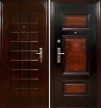 Китайская дверь металлическая