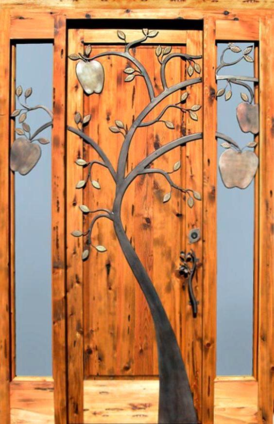 деревянная дверь входная