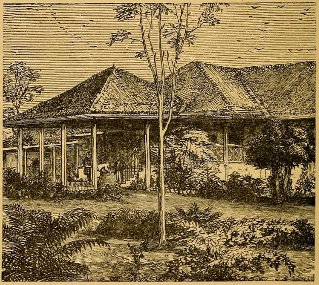 индийское бунгало 19 век