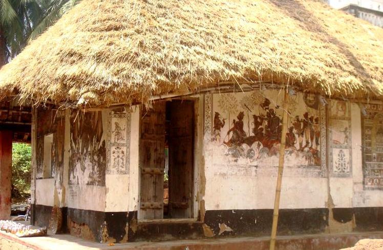 классическое индийское бунгало