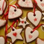 новогоднее печенье декор