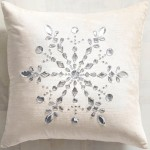 новогодний декор подушка