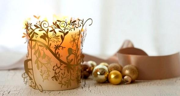 новогодний декор укрась свой дом украшение окон стола