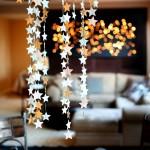 украшение потолка новый год
