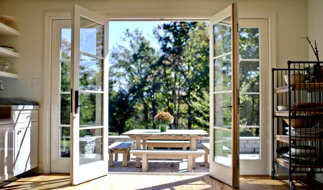 французское окно дверь