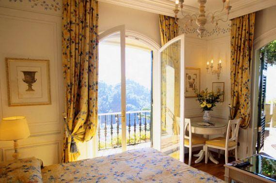 шторы французские окна