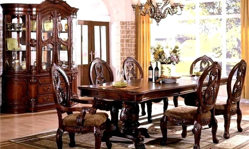Колониальный стиль в интерьере столовая
