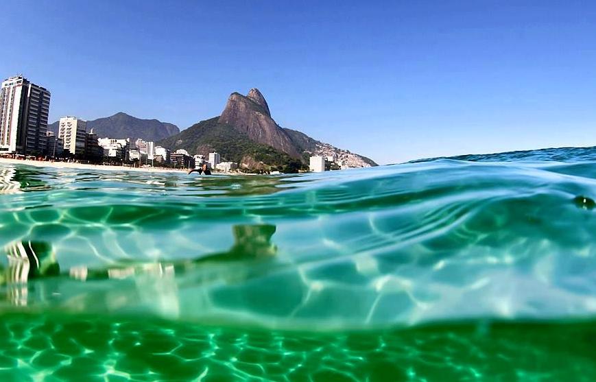 Пляж Ипанема Рио