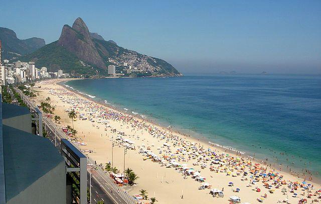 Ipanema пляж