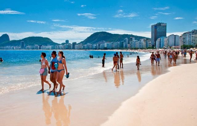 copacabana туристы