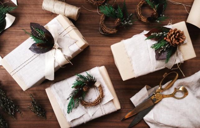 Как быстро и красиво упаковать новогодний подарок мастер класс