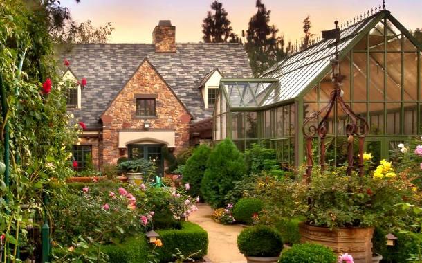английский сад в ландшафте