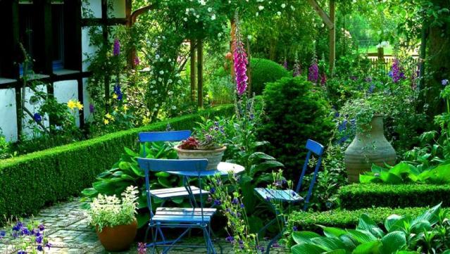 английский сад своими руками