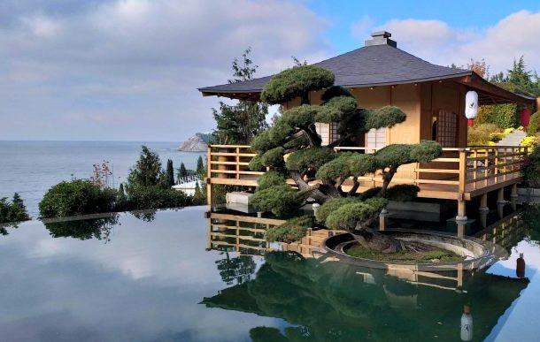 японский сад идеи