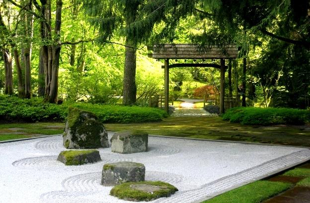 photo paysage gratuit Beau Jardin Paysage