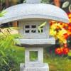 Японский садовый фонарь — каменное искусство!
