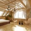 Дизайн интерьер мансарды деревянного дома—Идеи и рекомендации!