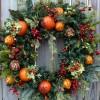 Как сделать новогодний венок на дверь — история и практика!