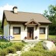 Дачный домик из пеноблоков. Идеи и возможности