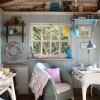Интерьер маленького дачного домика. Кантри или Прованс?